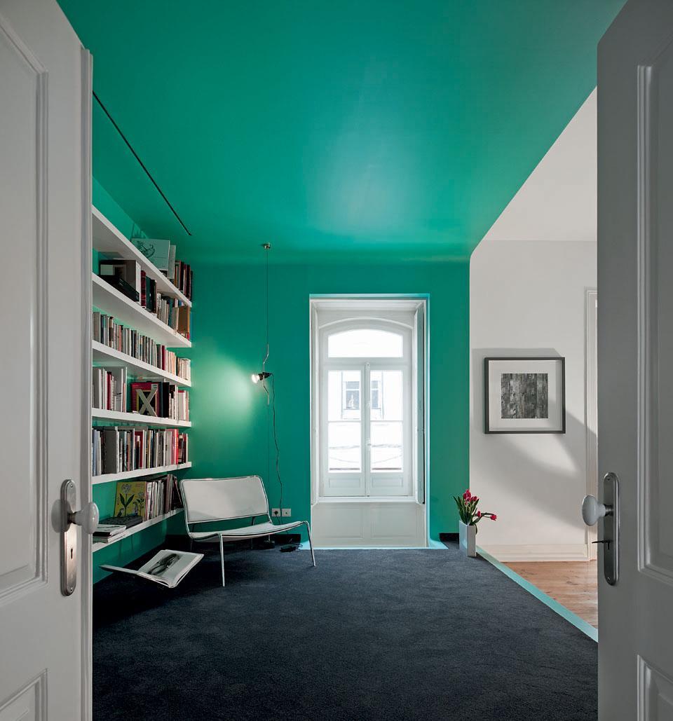 Soffitto qualche idea originale spazio soluzioni for Tinteggiare il bagno