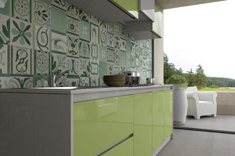 Patchwork in cucina: mix di colori! spazio soluzioni