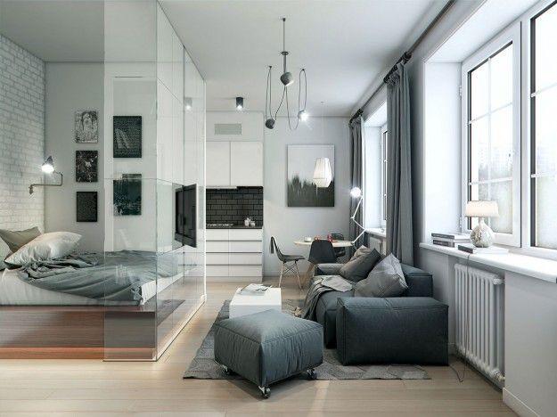 Awesome Soggiorno Camera Da Letto Ideas - Design Trends 2017 ...