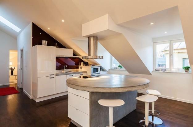 Stunning Cucine Moderne Per Mansarde Contemporary ...