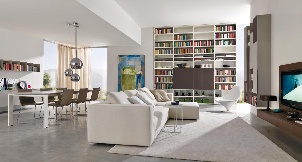 Zona living l ambiente che accoglie spazio soluzioni for Zona living design