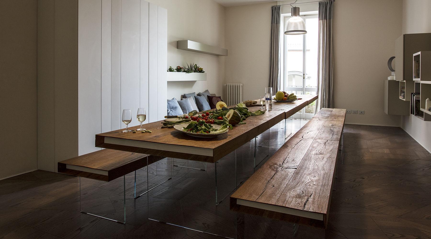 Panca E Tavolo Da Cucina : Tavolo e panche air wildwood spazio soluzioni