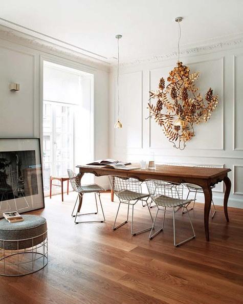 Classico moderno mix perfetto spazio soluzioni for Arredamento rustico e moderno insieme