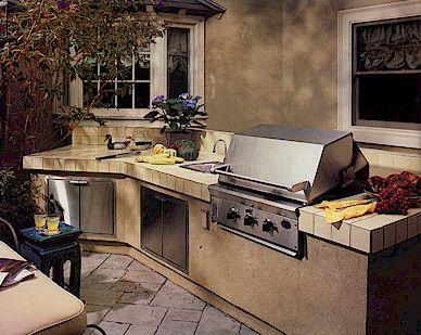 Cucina all 39 aperto archivi spazio soluzioni - Cucine in muratura esterne ...