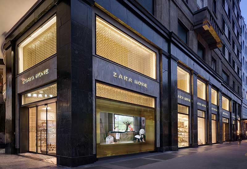 Zara home milano archivi spazio soluzioni for Zara uffici milano