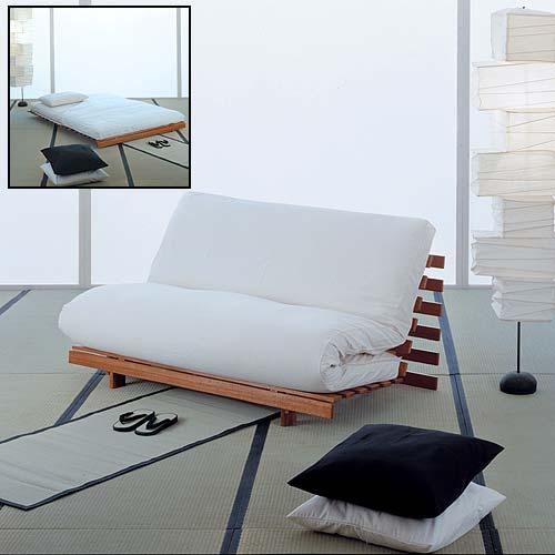 Divani letto arredi salvaspazio spazio soluzioni for Letto futon ikea