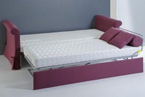 Divani letto arredi salvaspazio spazio soluzioni - Materassi x divano letto ...