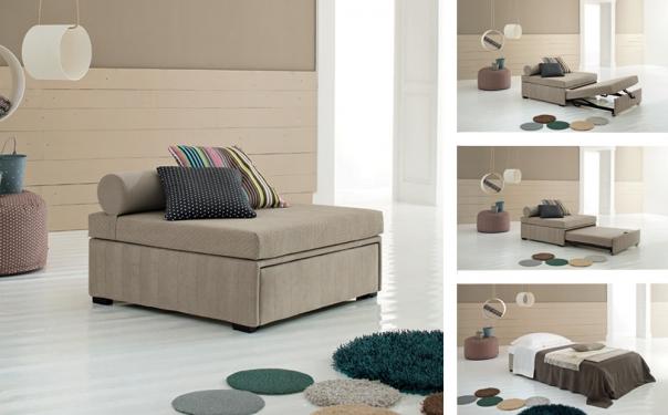 Pouf moderno originale e versatile spazio soluzioni - Pouf letto ikea ...