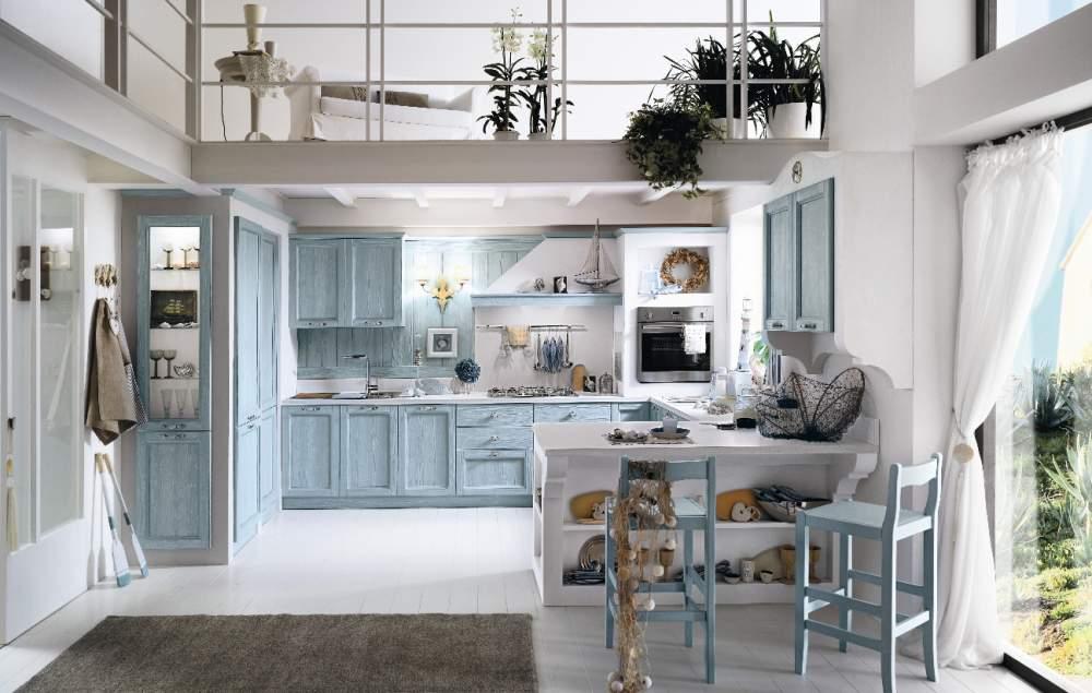 Cucina in muratura classica o moderna spazio soluzioni for Cucina moderna classica