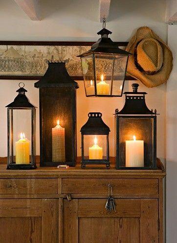 Candele lanterne archivi spazio soluzioni - Lanterne da interno ...