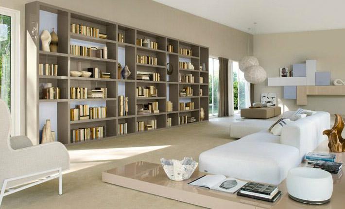 Librerie per tutti i gusti spazio soluzioni for Immagini librerie d arredamento