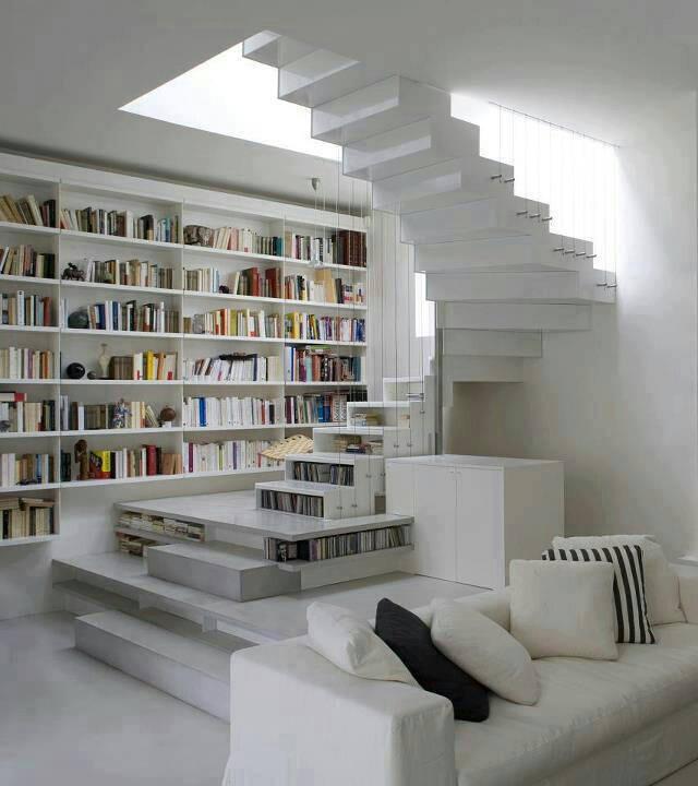 Librerie per tutti i gusti spazio soluzioni - Scale per librerie ...