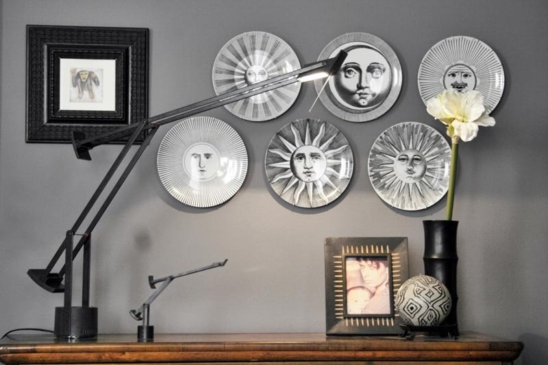 Piatti  decorare con i piatti  piatti a parete   spazio soluzioni