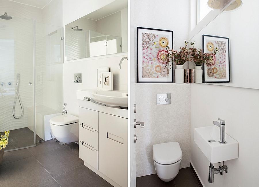 Bagno piccolo alcuni accorgimenti utili spazio soluzioni for Arredare bagno piccolo con lavatrice
