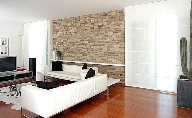 Pietra dall effetto sorprendente spazio soluzioni for Pareti interne in pietra ricostruita