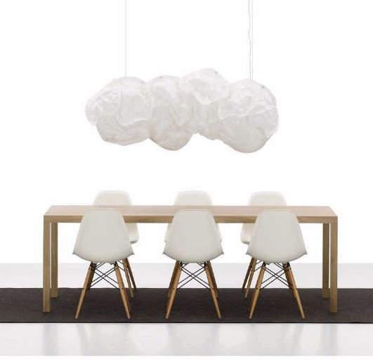 Sedie in materiale plastico spazio soluzioni for Sedie bianche di design