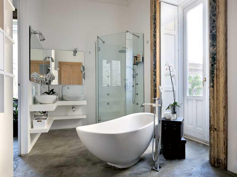 Vasca Da Bagno In Camera Da Letto : Suite con spa privata in sicilia camere di lusso e appartamenti