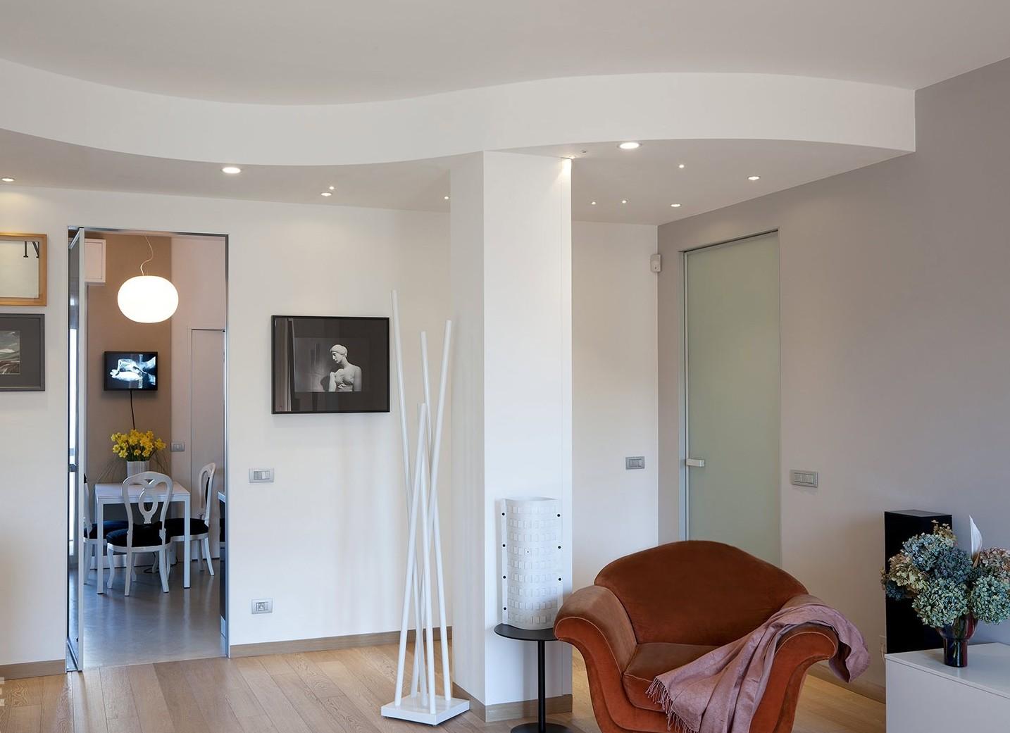Controsoffitto elemento architettonico spazio soluzioni for Faretti casa classica