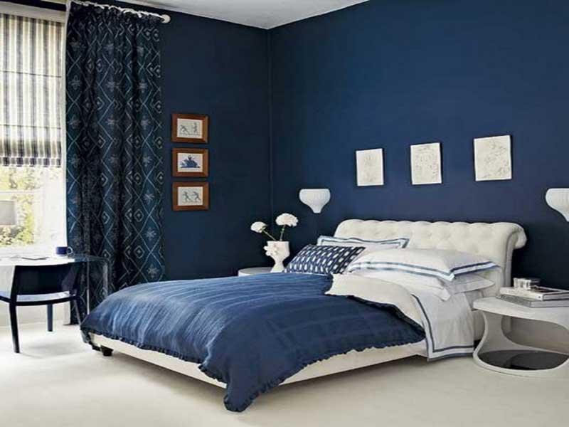 Camera Da Letto Blu : Camera da letto blu spazio soluzioni