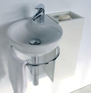 Lavandino Piccolo Per Bagno.Lavabo Sospeso Altre Forme In Porcellana Moderno Lavabi Salvaspazio