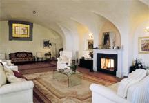 Creativo soffitto botte con chateau d ax tavoli da pranzo e tavolo
