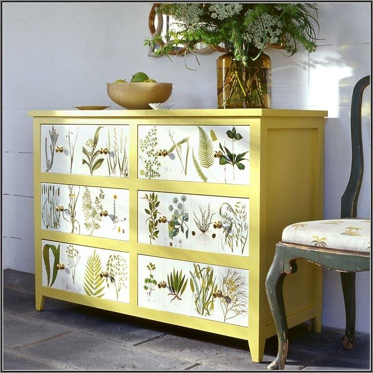 Decorare mobili archivi spazio soluzioni - Mobili grezzi da decorare ...