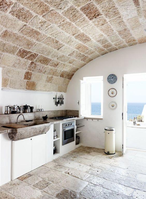 Volta a botte il soffitto un capolavoro spazio for Immagini saloni moderni
