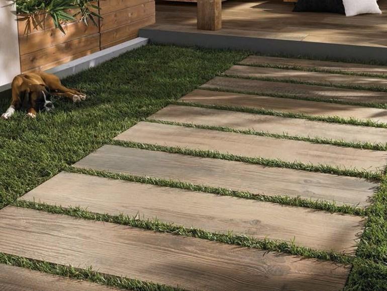 Piastrelle per esterni effetto legno pavimenti per esterni