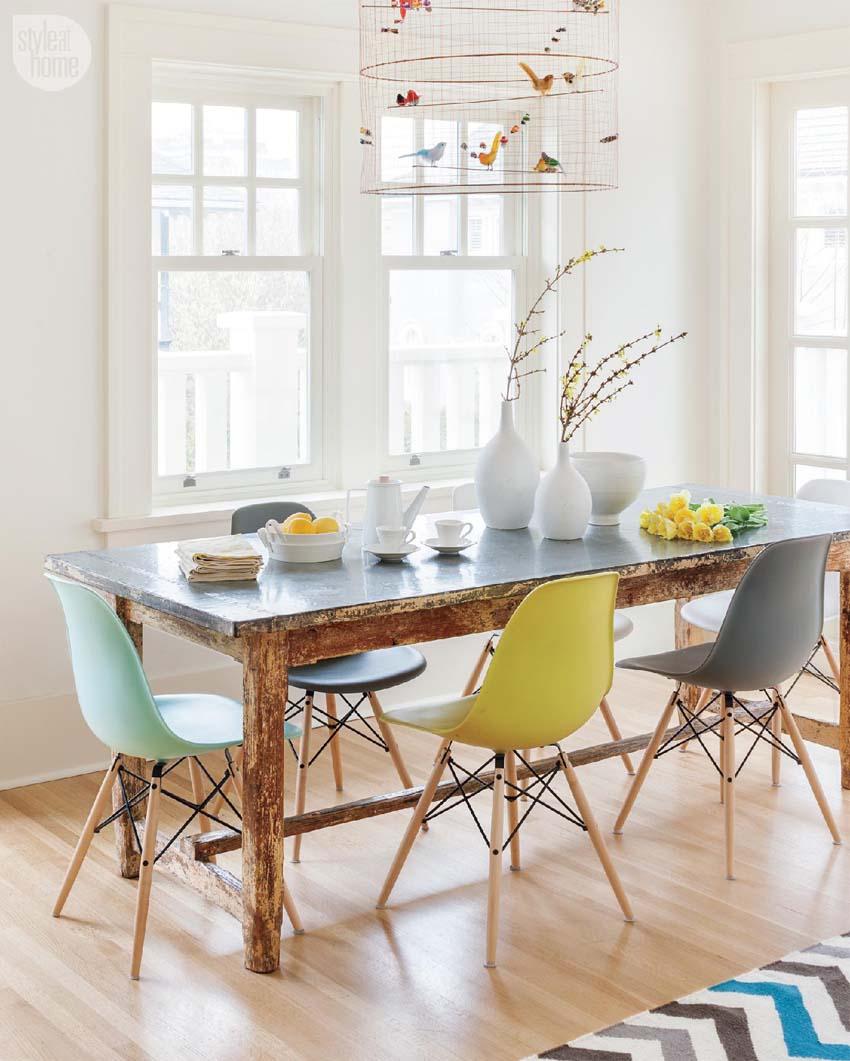 sedie colorate per dare personalità | spazio soluzioni - Sedie Cucina Colorate