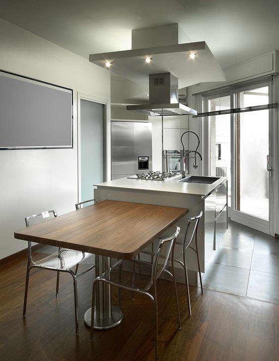 cucina con tavolo integrato con cucine con isola prezzi e marche da ...