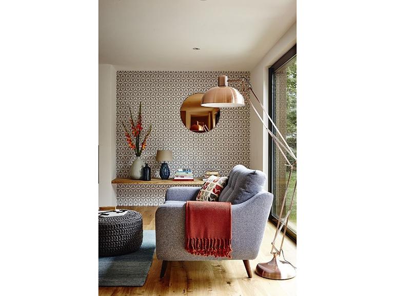 Lampada In Rame Design : Revival rame lampada da terra copper design style spazio soluzioni