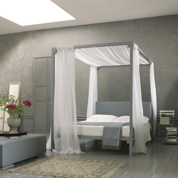 Emejing Letto Baldacchino Moderno Ideas - Modern Home Design ...