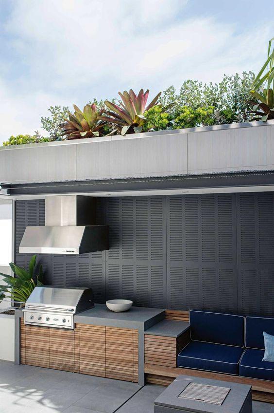 Cucina da esterno: estetica e praticità. - SPAZIO soluzioni
