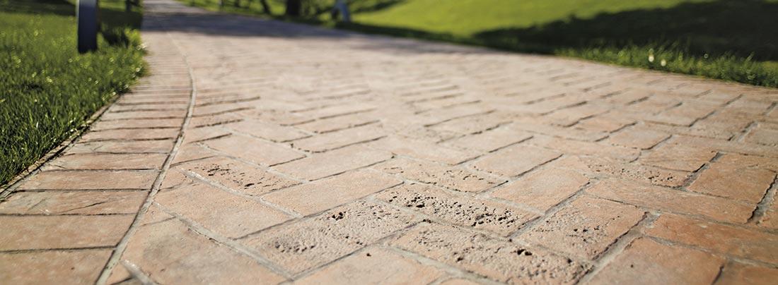 cemento stampato per i vostri spazi esterni. - spazio soluzioni