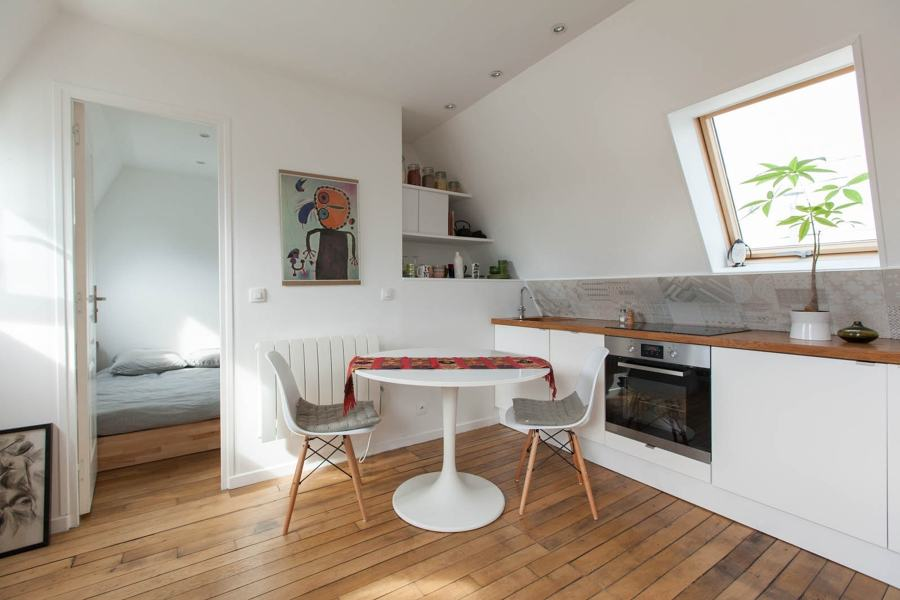 Cucina in mansarda 383528 spazio soluzioni for Arredare mansarda ikea