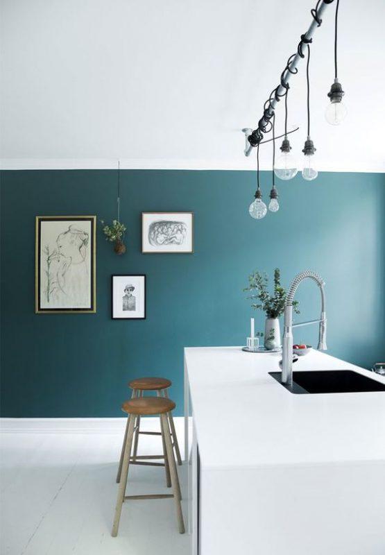 Verde. Avete mai pensato a questo colore per le pareti di casa ...