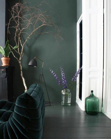 Verde. Avete mai pensato a questo colore per le pareti di casa?