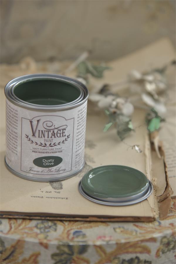 ea60bc865a Vintage Chalk Paint Dusty Olive, profondità e personalità per questo verde  oliva.