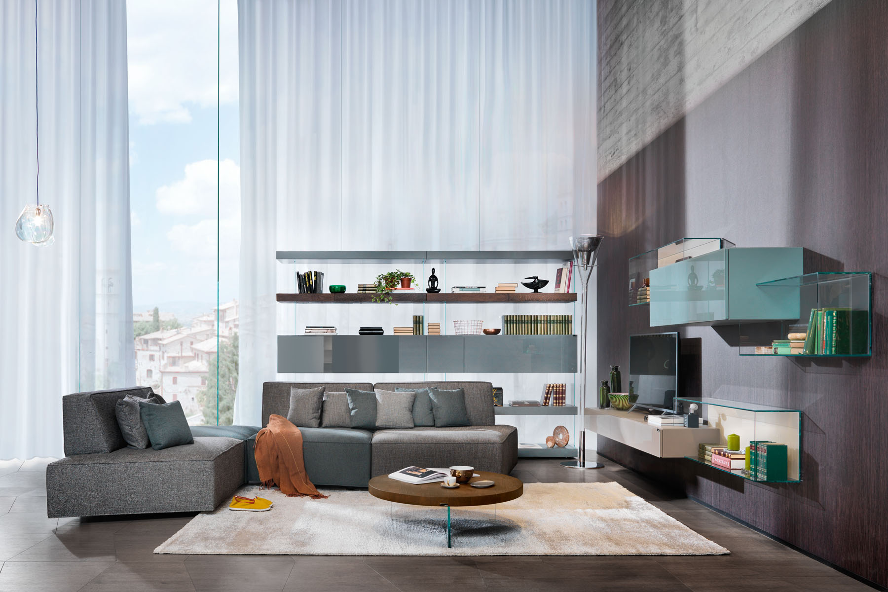 soggiorno design spazio soluzioni